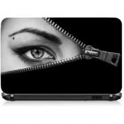 VI Collections Girl Eye Printed Vinyl Laptop Decal 15.5