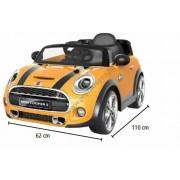 HECHT Mini Hatch akkumulátoros kisautó - sárga