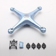 Generic Blue : SYMA X5HW RC Drone Helicopter Quadcopter Cover Case Spare Parts Main Body Shell Replacement