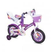 "Favorit Bicikl KIDS PRINCESS 12"" ljubičasta bela (460144)"