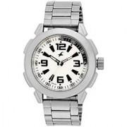 Fastrack Quartz White Dial Mens Watch-3130SM01
