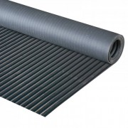 B2B Partner Industriefußbodenbelag mit breiter rille, 1,2 x 5 m
