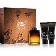 Montblanc Legend Night lote de regalo III eau de parfum 100 ml + bálsamo after shave 100 ml + gel de ducha 100 ml