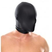 Spandex Full Face Hood Black