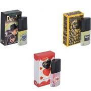 My Tune Combo Devdas-Kabra Yellow-Younge Heart Red Perfume