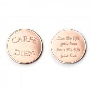 Mi Moneda CAR-03 Love - Carpe Diem rosekleurig Medium
