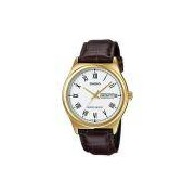 Relógio Masculino Analógico Casio MTP-V006GL-7BUDF – Marrom