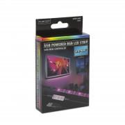 """USB RGB Farebný pásik 24-60"""""""