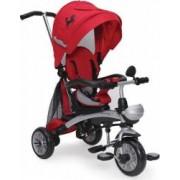 Tricicleta Copii Moni Mustang Rosu