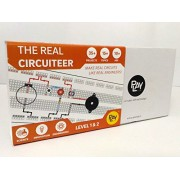 The Real Circuiteer - Make 35+ Electronics Projects & Learn 15+ Scienc Topics, STEM Learning(Recommended for Tinkering Labs)