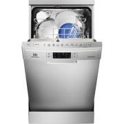 Masina de spalat vase Electrolux ESF4661ROX, Independenta, 9 seturi, Air Dry, Real Life, 45 cm, 6 programe, Touch control, Motor inverter, Clasa A++, Inox