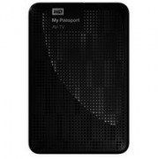 WD My Passport AV-TV WDBHDK5000ABK - vaste schijf - 500 GB - USB 3.0 (WDBHDK5000ABK-EESN)