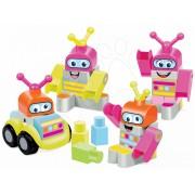 Jucărie de construit Maxi Abrick Robot set Écoiffier 7772 gri-roz
