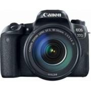 Aparat foto DSLR Canon EOS 77D 24.2MP Wi-Fi Negru + Obiectiv EF-S 18-135 f3.5-5.6 IS USM