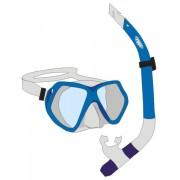 Adults Mask & Snorkel Set - Blue