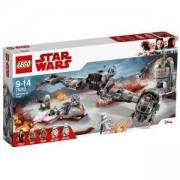 Конструктор Лего Стар Уорс - Защитата на Crait, LEGO Star Wars, 75202