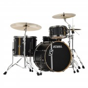 Tama Superstar HD ML40HZBN2-FBV Flat Black Vertical Stripe