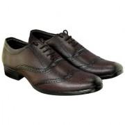 Blinder Brown Broke Lace-Up Formal Shoes For Men
