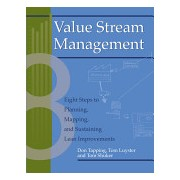 Value Stream Management - Eight Steps to Planning, Mapping and Sustaining Lean Improvements (Tapping Don (MCS Media Chelsea MI USA))(Paperback) (9781563272455)