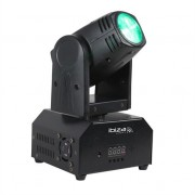 ibiza LMH250-RC Moving Head 4-in-1 10 W CREE LED RGBW DMX LED Remote Control Included