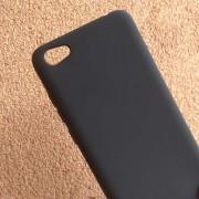 Калъф за Xiaomi Redmi Note 5A силиконов гръб черен Lux