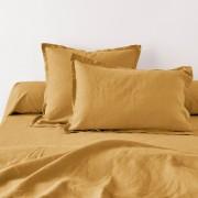 La Redoute Interieurs Fronha de almofada ou de travesseiro, em linho lavadoÂmbar- 63 x 63 cm