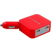 Xtreme Cables Portable Charger for All Smartphone Devices - Retail Paaging - Red