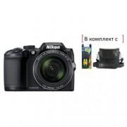 Digital Camera B500 Black + Зарядно, батерии и чанта