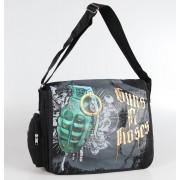 Geantă Guns n ' Roses - Grenade Logo - Bravado USA - GNR13B6