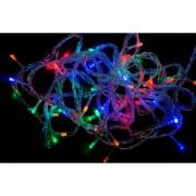Гирлянда 180 LED, цветное свечение, прозрачный провод