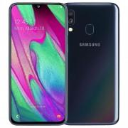 "Samsung Smartphone Samsung Galaxy A40 Sm A405f Dual Sim 64 Gb Octa Core 5.9"" Super Amoled 16 + 5 Mp 4g Lte Wifi Bluetooth Refurbished Black"