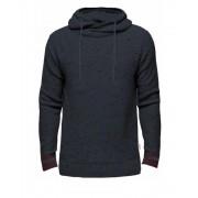 Jack & Jones Naps Knit Crew Hood Navy Blazer Stickad Huvtröja