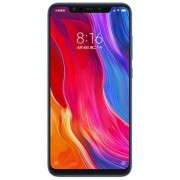 "Telefon Mobil Xiaomi Mi 8, Procesor Octa-Core 2.8GHz/1.8GHz, Super AMOLED capacitive touchscreen 6.21"", 6GB RAM, 256GB Flash, Camera Duala 12+12MP, Wi-Fi, 4G, Dual Sim, Android (Albastru) + Cartela SIM Orange PrePay, 6 euro credit, 6 GB internet 4G, 2,000"