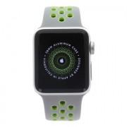 Apple Watch Series 2 Nike+ - boîtier en aluminium argent 38mm - bracelet sport en argent/volt