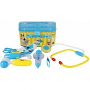 Planet Of Toys 8 pcs Doctor Playset with Accessories