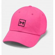 Under Armour Men's UA Washed Cotton Cap Pink OSFA