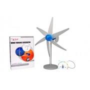 Kitucate Wind Turbine Generator Hobby Science Energy DIY Kit for Kids (Grey)