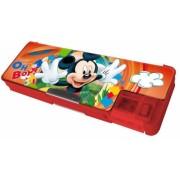 Penar plastic cu inchizatoare magnetica Mickey Mouse