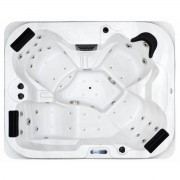 Spatec Jacuzzi Outdoor Whirlpools - SPAtec 500B weiss