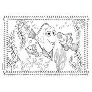 Disney Hitta Doris, 4 st olika pussel med ritblock, 48 bitars