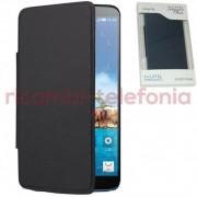 Alcatel - FC8020 / F-GCGC3390A1EC1-A1 - Custodia Flip Cover per Alcatel Hero (Nero)
