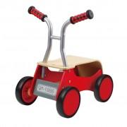 Hape Trotteur draisienne à 4 roues rouge E0374