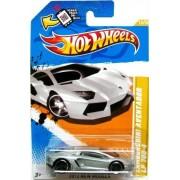 Mattel Hot Wheels Silver Lamborghini Aventador Lp 700-4 2012 New Models