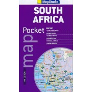 Wegenkaart - landkaart Pocket map South Africa Zuid Afrika | MapStudio