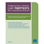 10 New Actual Official LSAT Preptests with Comparative Reading