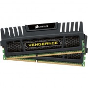 Kit Memorie Dual Channel Corsair Vengeance, 16GB (2 x 8GB), DDR3, 1600MHz, 10-10-10-27, 1.5V, radiator, Negru