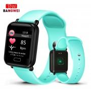 pulsera inteligente para mujer, podómetro deportivo, pulsera inteligente, Monitor de ritmo cardíaco