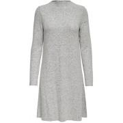 ONLY Rochie de damă ONLKLEO L / S DRESS KNT NOOS Light Grey S