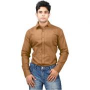Yellow Regular Fit Full Sleeves Casual Shirt From Relish Shirts