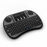 Mini tastatura bluetooth iluminata touchpad SmartTV PC XBox PS3 Rii i8+